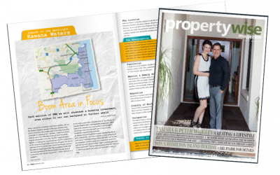 Suburb Review and Case Study on 'Property Wise' magazine