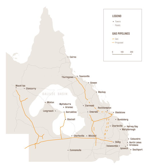 Queensland Mining Towns - Gallilee Basin