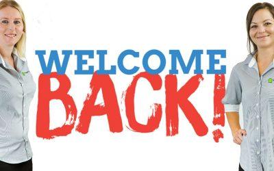 Welcome back Sam and Carmen!