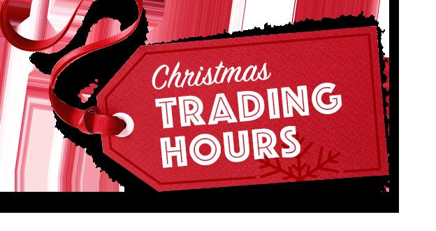 Christmas Hours – 2020